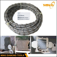 High Cutting Efficiency Diamond Profiling Wire Saw For Block Cutting And Trimming In Workshop