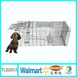 Best folding dog trap cage,stray dog removal,live dog cage trapTLD2015