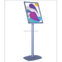 aluminum A4/A3 restaurant/hotel/shop menu stand snap frame stand menu holder lobby stand