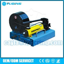 hydraulic hose crimping machine, P16HP hydraulic hose crimping tool for sale with Hand Pump made in USA