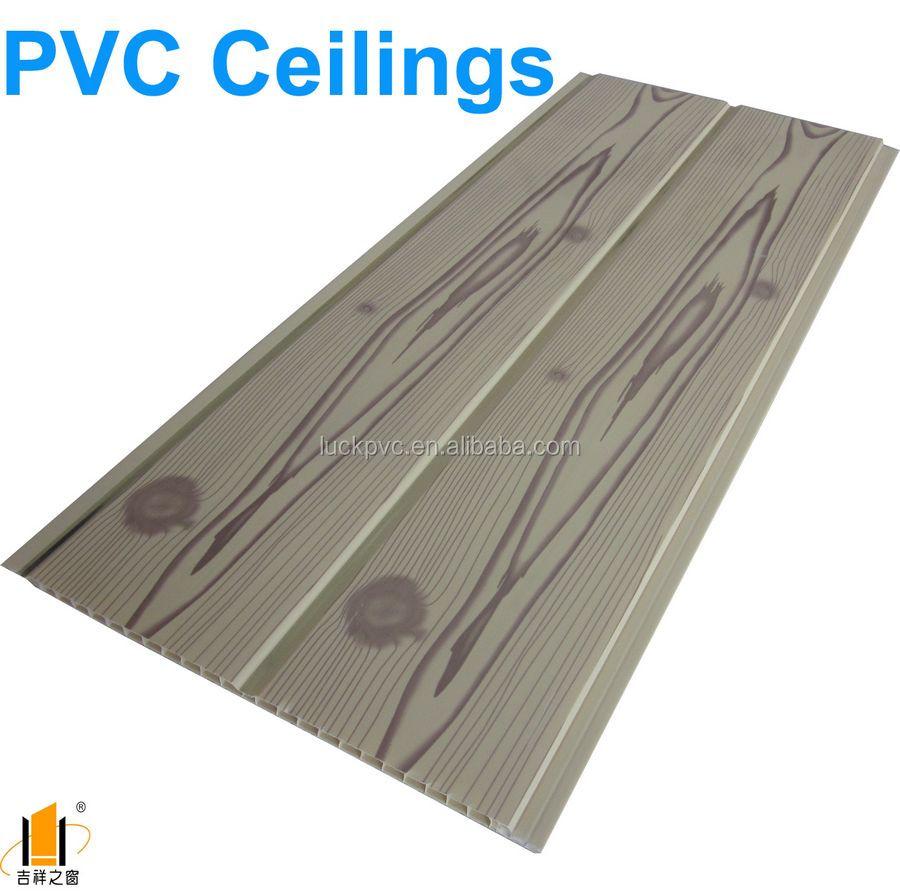 Interior PVC Ceiling Design Wooden Design