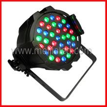 Guangzhou manufactureinmg 36pcs 3w led par 64 rgb dmx stage lighting