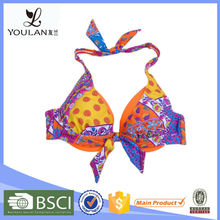 Customized LOGO Perfectly Halter Xx Sex China Bikini Girl Photos Polyester Filamen For Women