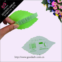 Guangzhou factory Wholesale custom Fruit note paper / leaf shaped note paper