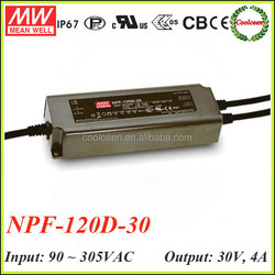 Meanwell NPF-120D-30 constant voltage dimmable led driver