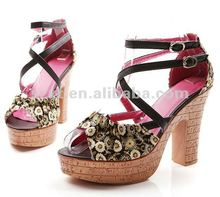 New style 2012,Shivering lady high platforms high heel shoes XT-SF132