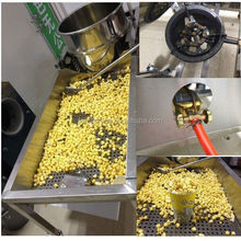 Ball Type Caramel industrial popcorn machine