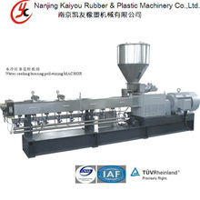 Nanjing Kaiyou HKY65 Twin Screw Caco3 filler Masterbatch Extruder-compounding and extrusion technology