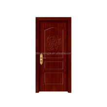 China zhejiang manufacture MDF+Finger joint fir wood+PVC room door and bathroom pvc doors prices