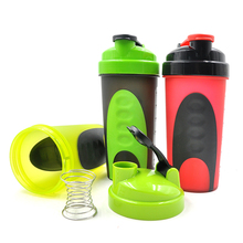 Water Bottles Drinkware Type and Plastic Material shaker cup with shaker ball
