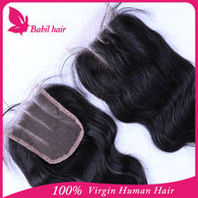Free Parting Middle 3 Way Part Closure Hair Extensions Brazilian Body Wave Cheap Human Hair Lace Closure