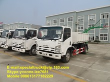 ISUZU refuse collector truck 6000liters exported to Africa