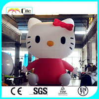 CILE 2015 hot selling inflatable hello Kitty customization model (advertising, sales promotion, simulator, events)