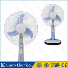 hot sale elegant 16inch or 18inch rechargeable cooling fan battery operated fan recharge