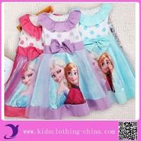 2015 New Style Dashiki Kids Girls Dress