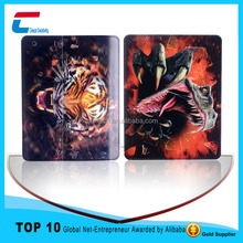 High-definition sublimation case smart cover for ipad ,3d image protective case cover for ipad