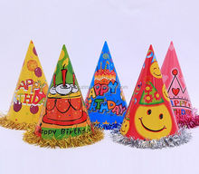 Christmas hat birthday party supplies party imprint paper hat