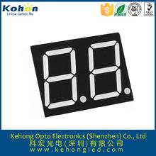 0.3'' 7 segment 2 digit dust pressure gauge led display good quality hot sale product