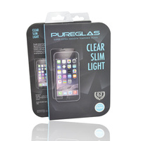 0.3mm PUREGLAS tempered glass screen protector for iphone5c