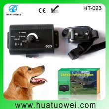 Multi-function LED light, sound, vibration, electric shock outdoor dog fence