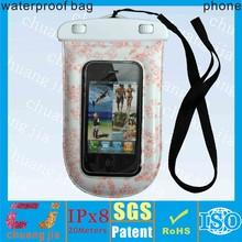 2015 hot sale waterproof bag cover for versatile phone