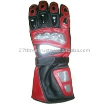 Racing Motorcycle Leather Gloves