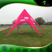 Waterproof & Fireproof PVC Advertising Star Shape Tent / Canopy Star Tent