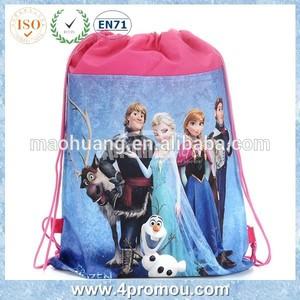Congelados não- tecido de saco com cordão