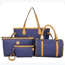 Guangzhou goods wholesale woman handbag fashion handbags big size 3pcs bag set SY6393