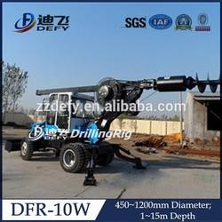 High Quality Hydraulic Screw Pile Driver DFR-10W