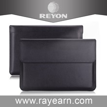 Factory price 13 inch laptop sleeve, leather case for macbook air