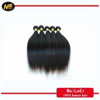 Wholesale Black Beauty Supply 100% Brazilian Human Straight Hair Extension