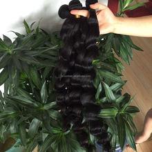 free sample hair bundles loose wave 100% unprocessed raw virgin Brazilian hair weave bundles