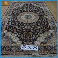 handmade black oriental carpets online for sale