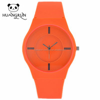 AB15 Newest free custom logo cheap silicone rubber wristband watch
