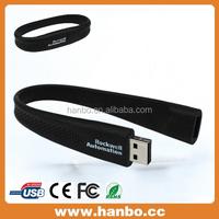fashion silicon wristband usb flash drive