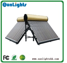 unpressurized solar water heater,solar heater for hotel,solar heater water with 58*1800mm vacuum tubes