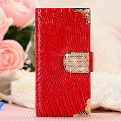 For Iphone 4 4S Universal Smart Phone Wallet Style Leather Case