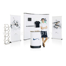 High Quality Pop Up Stand for Brand Company,New Design Display Stand