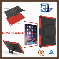 best selling products PC Silicone Kickstand Case for iPad Pro, Tablet Covers for iPad Pro Case with Stand function 12.9 inch