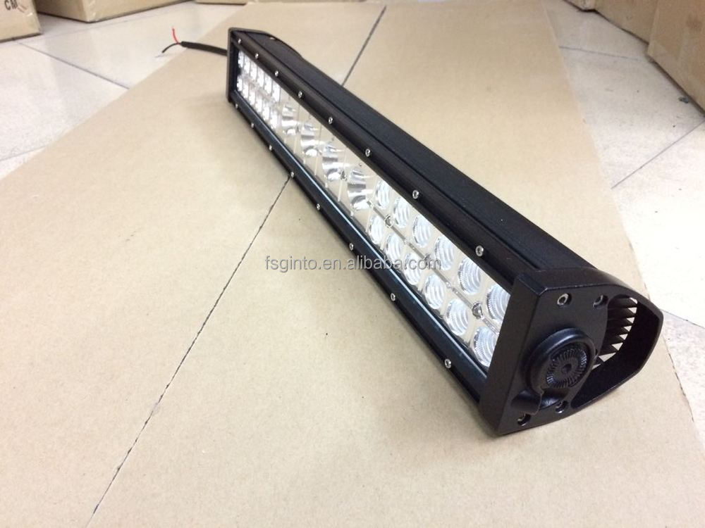 Factory low price 112w 22'' 3W+10W+3W LED light bar, combo led light strip 4x4 accessories led auto parts
