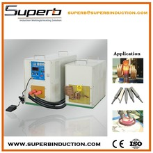 Portable automatic spot welding machine with electric generator