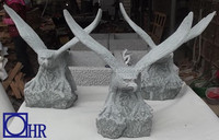 chinese natural stone large eagle statues