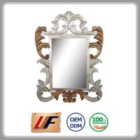 Top Class Crafts Interior Decorating Wall Decor Framed Square Makeup Mirror