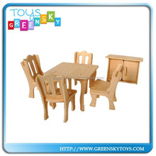 3D Puzzle Wooden Toy Puzzle Chair Wooden Toy For Sale