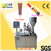 Overseas Service Center Available New Condition Plastic &Aluminium Nail Polish/Super Glue Tube Filling Sealing Machine Price