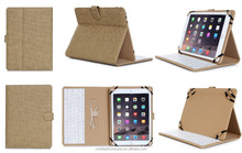 High Quality Factory Price Universal Keyboard PU Leather Tablet Cases for 10 Inch