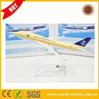 New SAUDI ARABIAN Airlines B777 cheap airplane, airplane model for sale
