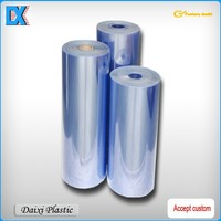 Rigid pvc film 0.02mm thick clear plastic roll