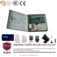 110G 32 Wireless Defence Zone 4 Set Tel 5 Mobile Number Metal Gsm Auto Dial Alarm System